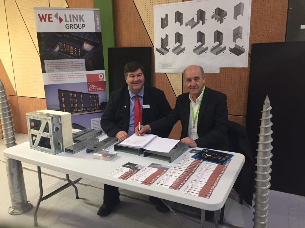 WElink Group signs contract with SGS College to develop its Innovation House